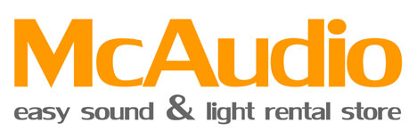 McAudio.eu easy sound and light rental store