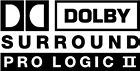 Dolby Surround w/Pro Logic II Logo